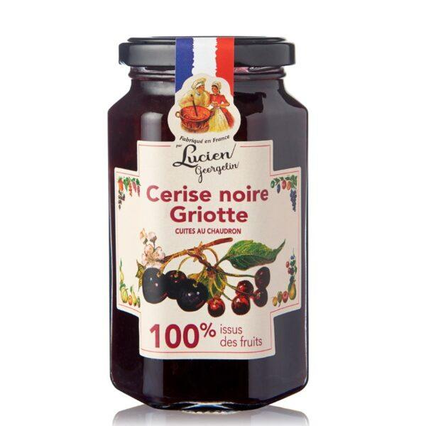 Musta kirsikka hapankirsikkahillo 100 300g
