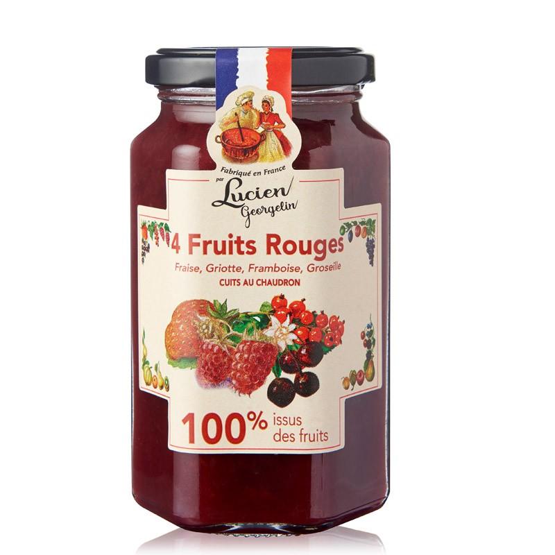 Neljä marjahillo 100 hedelmästä 300g