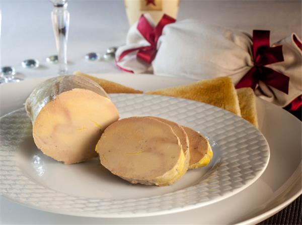 I Grande 3074 foie gras d oie entier du perigord au torchon mi cuit 250g net