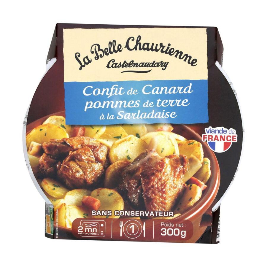 CONFIT DE CANARD perunat