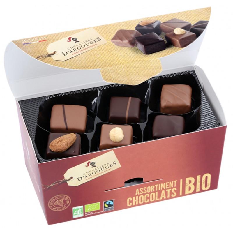 ballotin d assortiment de chocolat bio max havelaar