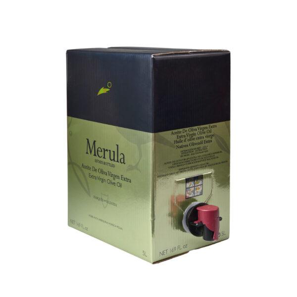 merula extra virgin oliivioljy bag in a box 5000ml
