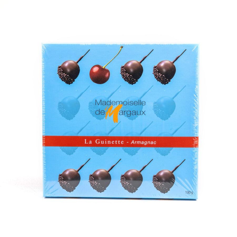 la guinette kirsikat tummasuklaassa