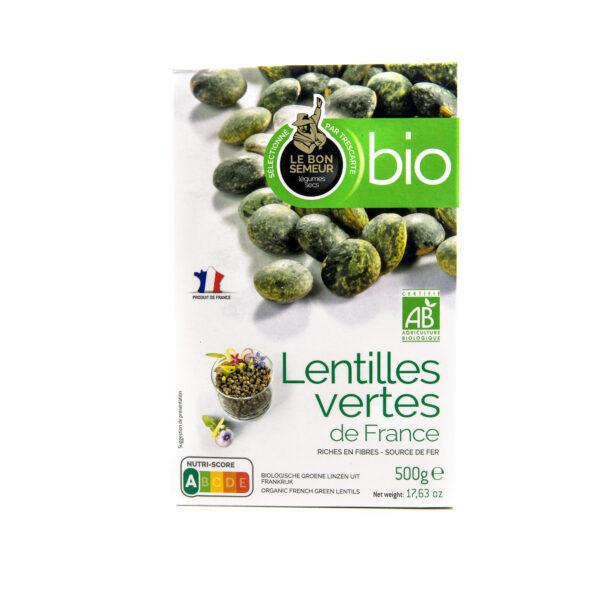 vihrea ranskalainen luomu linssi 500g fi eko 201