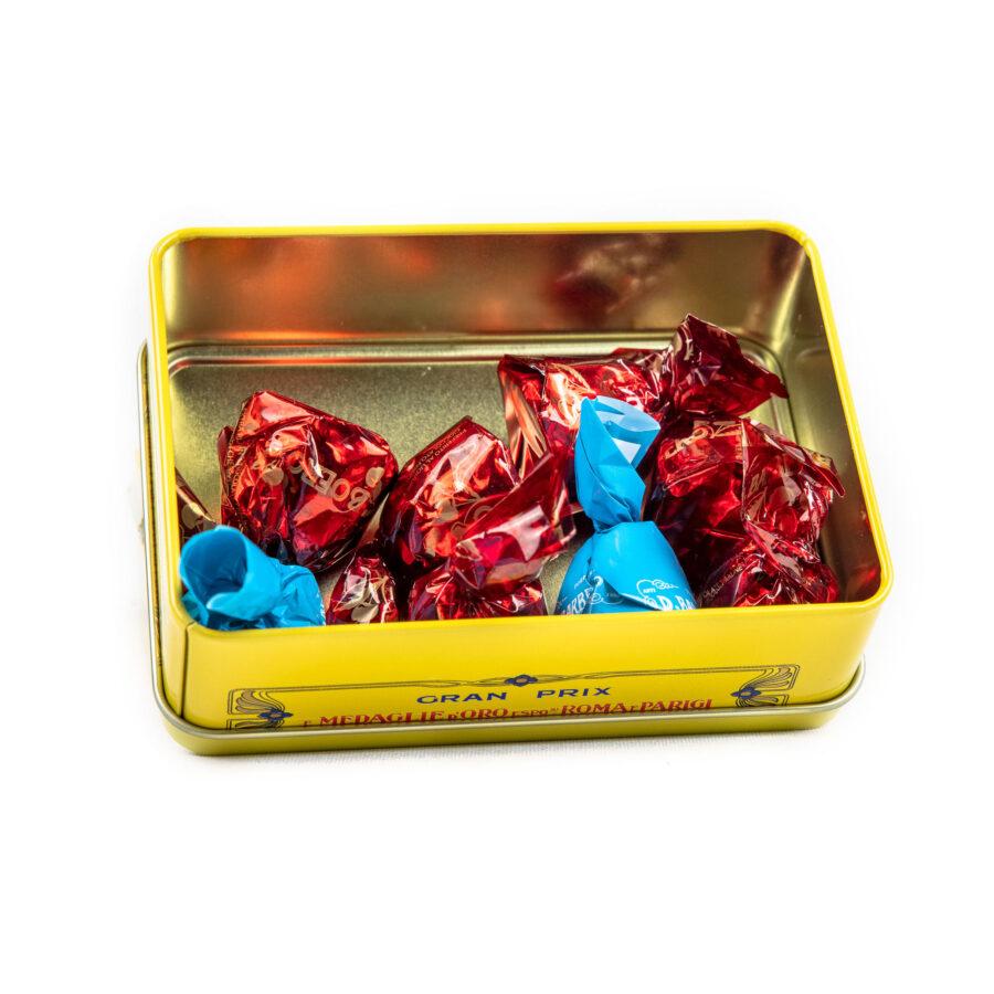 suklaakonvehti metallirasia limoncelli marachino nocciole 150g 3