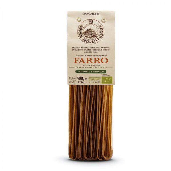 spaghetti farro bio pastificio morelli